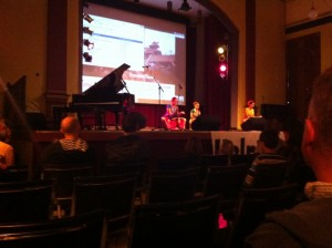 A group performing at Aeolian Hall