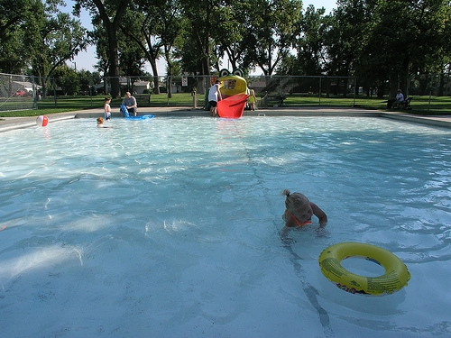 Anderson Wading Pool, Wibaux Park, Miles City