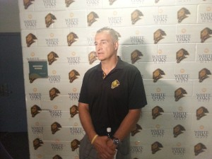 Basil McRae says the Knights are in good hands