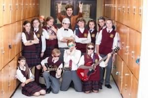 Cast of OKTC's School of Rock